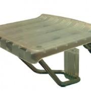 Metalna stolica za tuš kabinu