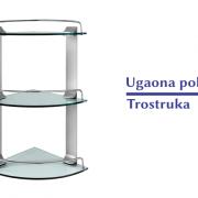Ugaona Polica-Trostruka