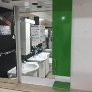 Nil lux 55 zeleno ogledalo sa ormaricem