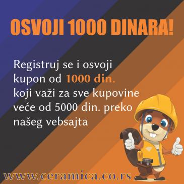 Osvoji 1000 dinara!